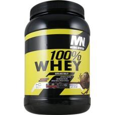 MN 100% Whey 909 гр (Шоколад, печенье-крем)