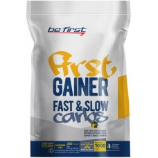 Be First GAINER 1000 гр (ваниль, капучино, карамель, клубника, шоколад)