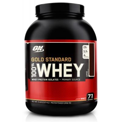 Optimum Nutrition 100% Whey Gold Standard 2.3 кг в Алматы
