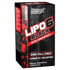 Nutrex Lipo 6 Black Ultra Concentrate  60 капс