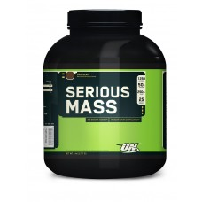 Optimum Nutrition Serious Mass 2.7 кг (ваниль, шоколад, банан)