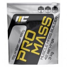 Muscle Care Pro Mass 3 кг (банан, ваниль, клубника, малина, фисташковый)