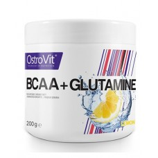 Ostrovit BCAA+Glutamine 200 гр (Апельсин, Лимон)