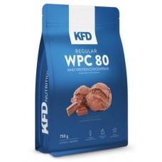 KFD Regular WPC 80 750 гр (ванильное мороженое, йогуртово-лимонный, кокосовый, молочная карамель, шоколад)