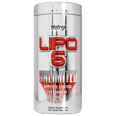 Nutrex Lipo-6 Unlimited 120 в Алматы