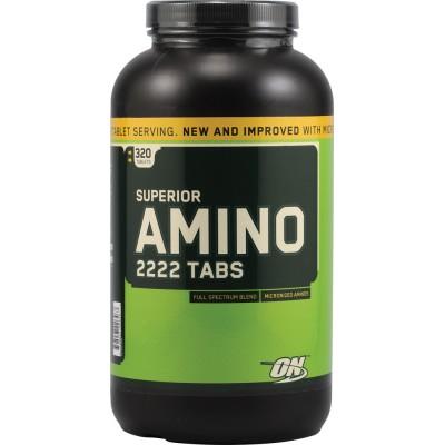 Optimum Nutrition Superior Amino 2222 320 таб в Алматы