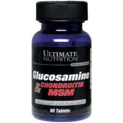 Ultimate Nutrition Glucosamine & Chondroitin & Msm в Алматы
