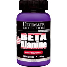 Ultimate Nutrition Beta Alanine  750 mg,  100 caps.