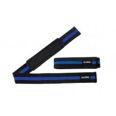 Be First Лямки для тяги с мягкими вставками, хлопковые(черно-синие, черно-красные, черно-желтые) (арт 646-7-8)