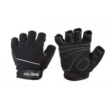 Be First Перчатки черные со светлой полосой (M, L, XL) (арт 305)