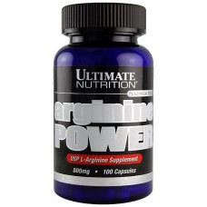 Ultimate Nutrition Arginine Power 800 mg 100 caps.
