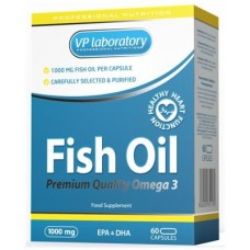 Vp Lab Fish Oil Omega-3 60 капс